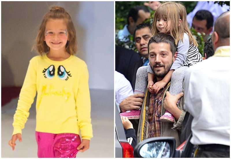 Diego Luna's children - daughter Fiona Luna