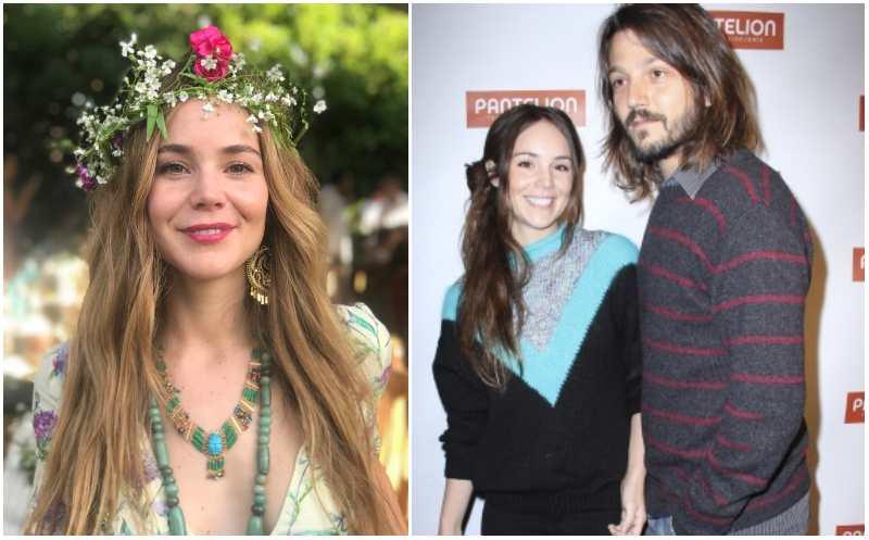 Diego Luna's family - ex-wife Camila Sodi