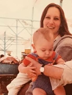 Diego Luna's family - mother Fiona Alexander