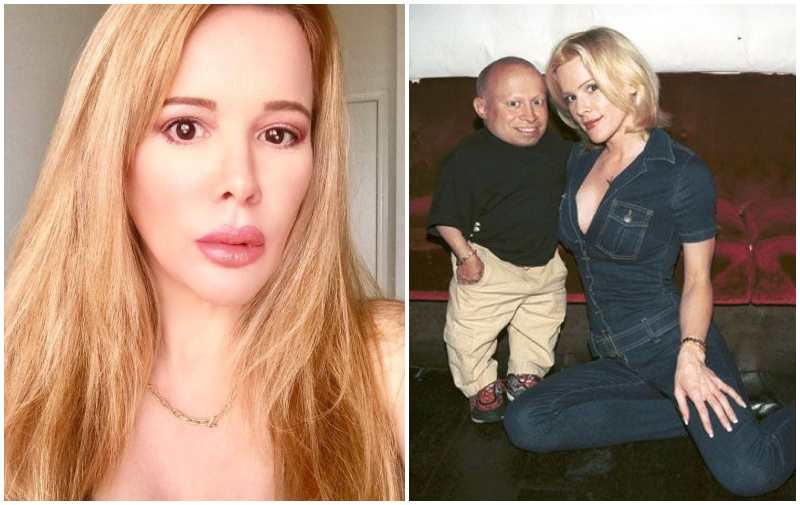 Verne Troyer's family - ex-wife Genevieve Gallen