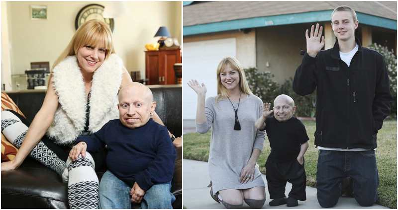 Verne Troyer's family - partner Brittney Powell