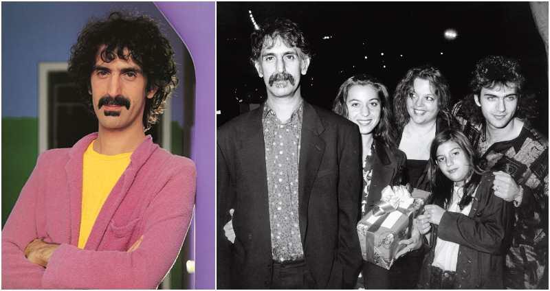Ahmet Zappa's family - father Frank Zappa