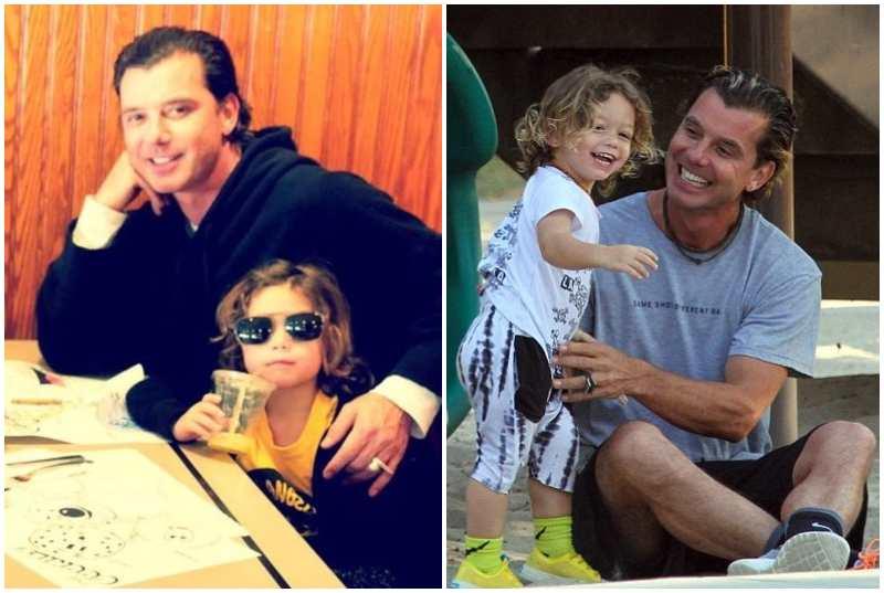 Gavin Rossdale's children - son Apollo Bowie Flynn Rossdale