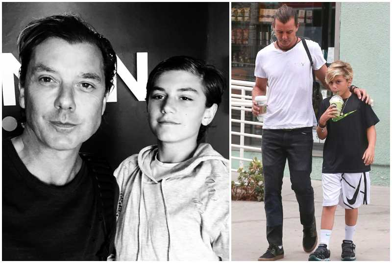 Gavin Rossdale's children - son Kingston James McGregor Rossdale