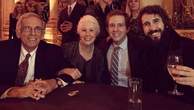 Josh Groban's family