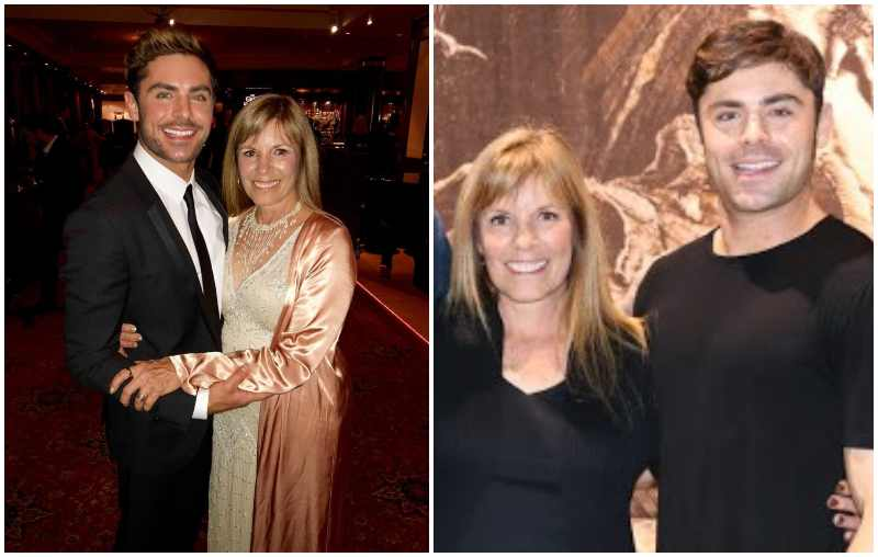 Zac Efron's family - mother Starla June Efron