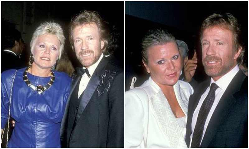 Chuck Norris' family - ex-wife Dianne Kay Holecheck