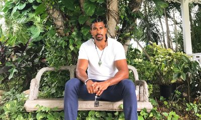 David Haye's family: parents, siblings, wife and kids