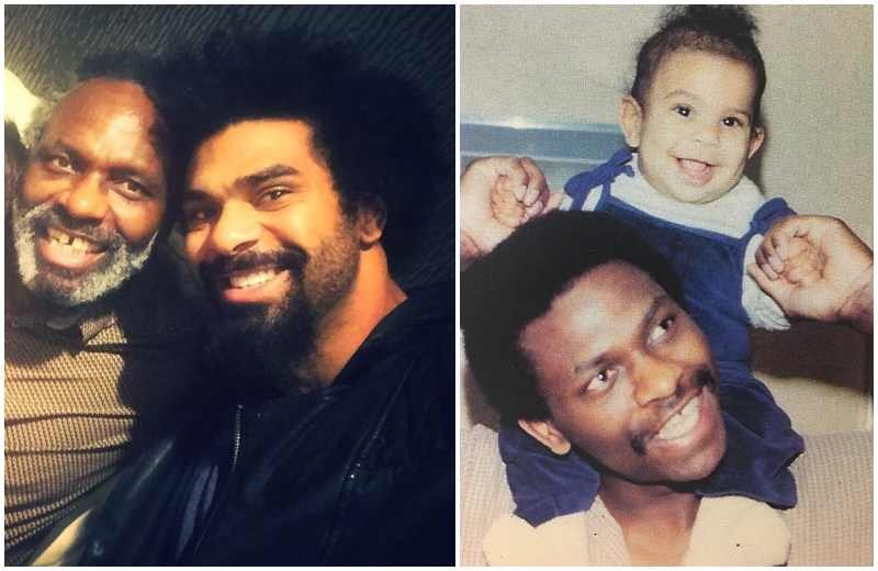 David Haye's family - father Deron Haye
