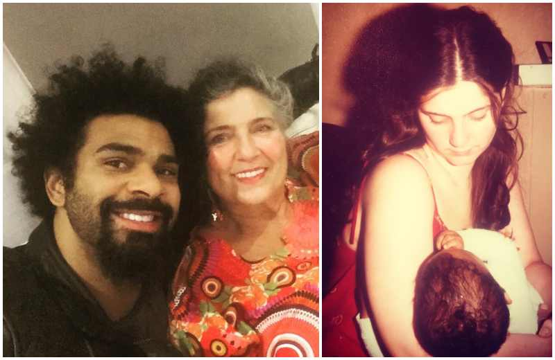 David Haye's family - mother Jane Haye