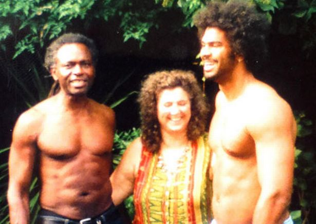 David Haye's family - parents