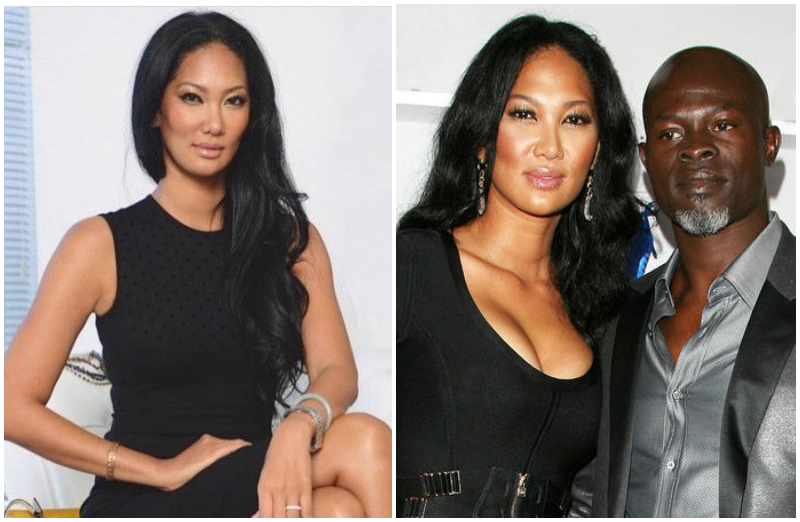 Djimon Hounsou's family - ex-wife Kimora Lee Simmons