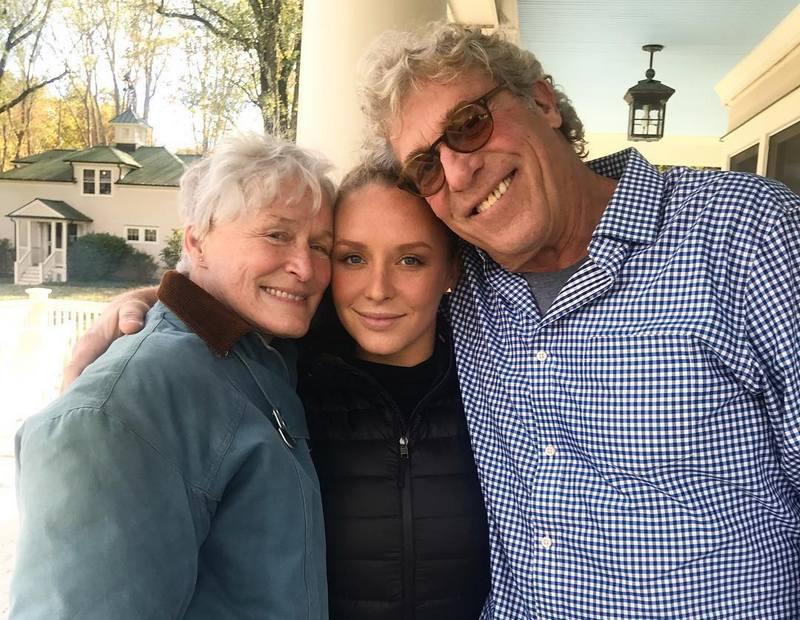 Glenn Close's family - ex-husband John H. Starke and daughter