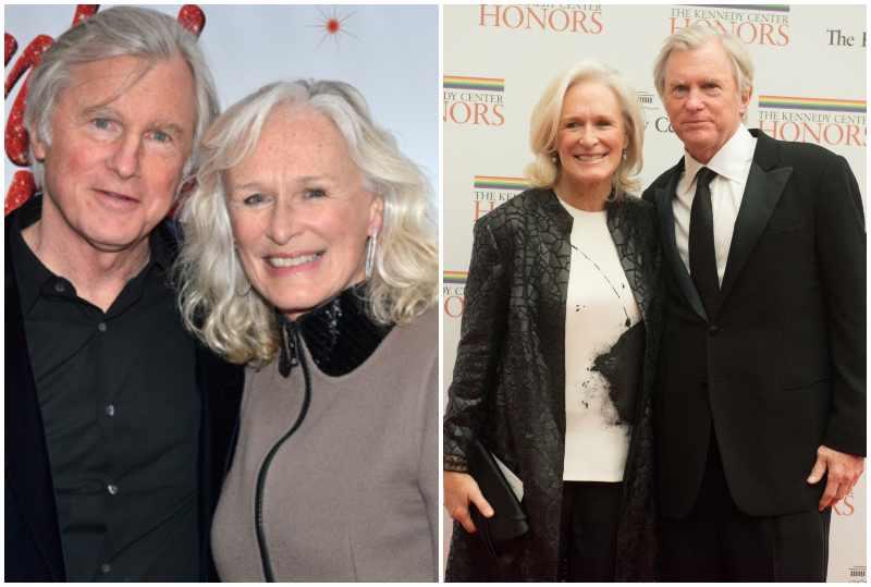 Glenn Close's family - ex-husband David Evans Shaw