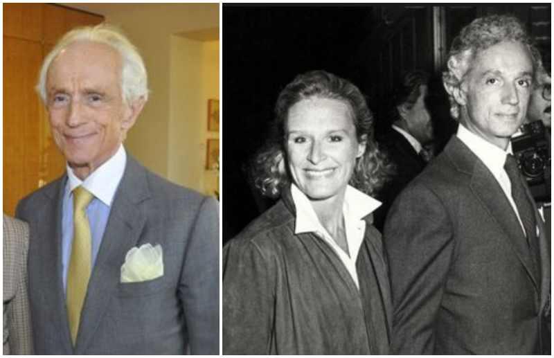 Glenn Close's family - ex-husband James Marlas