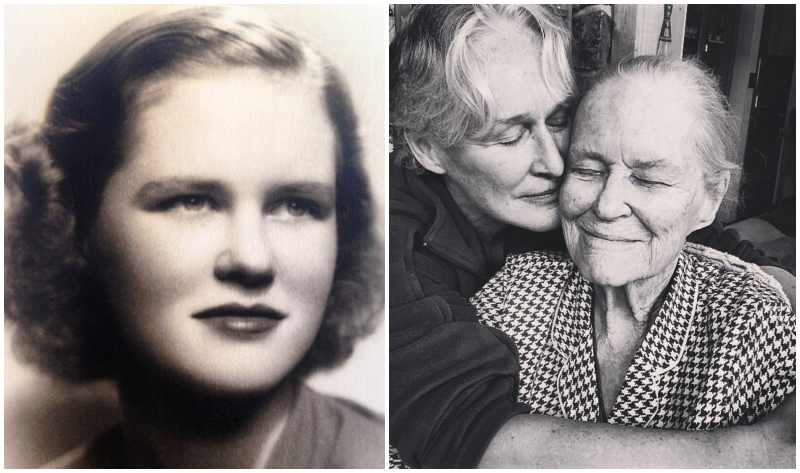 Glenn Close's family - mother Bettine Moore Close