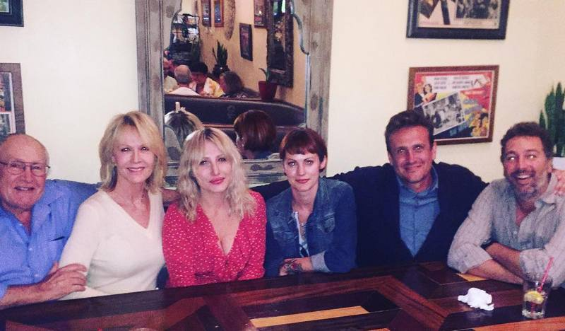 Jason Segel's family