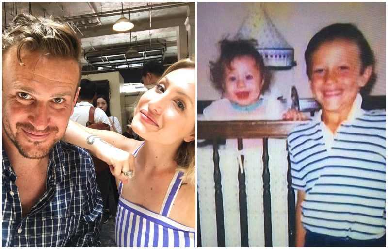 Jason Segel's siblings - sister Alison Segel