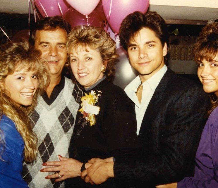 John Stamos' family