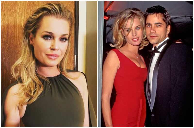 John Stamos' family - ex-wife Rebecca Romijn