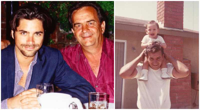 John Stamos' family - father William Bill Stamos