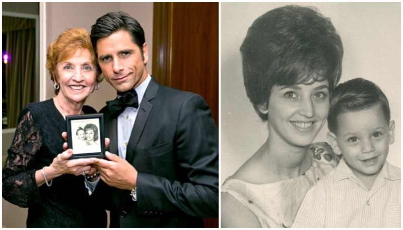 John Stamos' family - mother Loretta Donna Stamos
