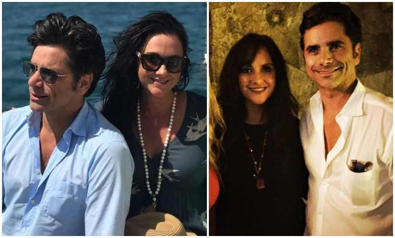 John Stamos' siblings - sister Alaina Talarico