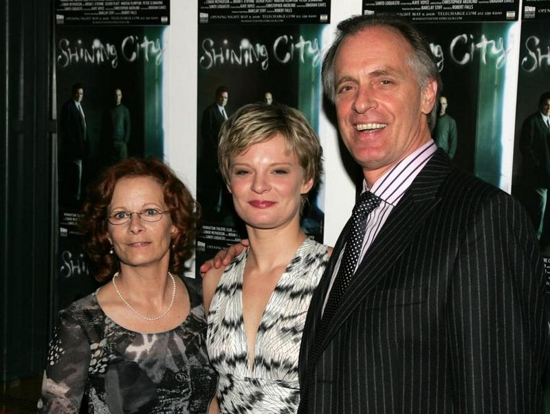 Keith Carradine with Shelley and Martha Plimpton