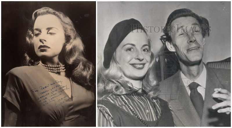 Keith Carradine's family - mother Sonia Sorel (nee Henius)