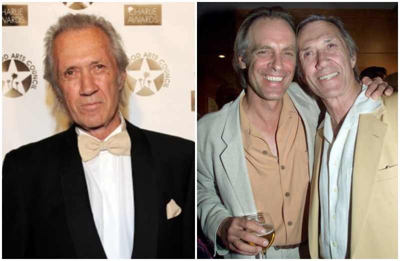 Keith Carradine's siblings - half-brother David Carradine