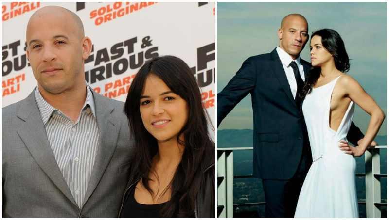 Michelle Rodriguez's ex-boyfriend Vin Diesel