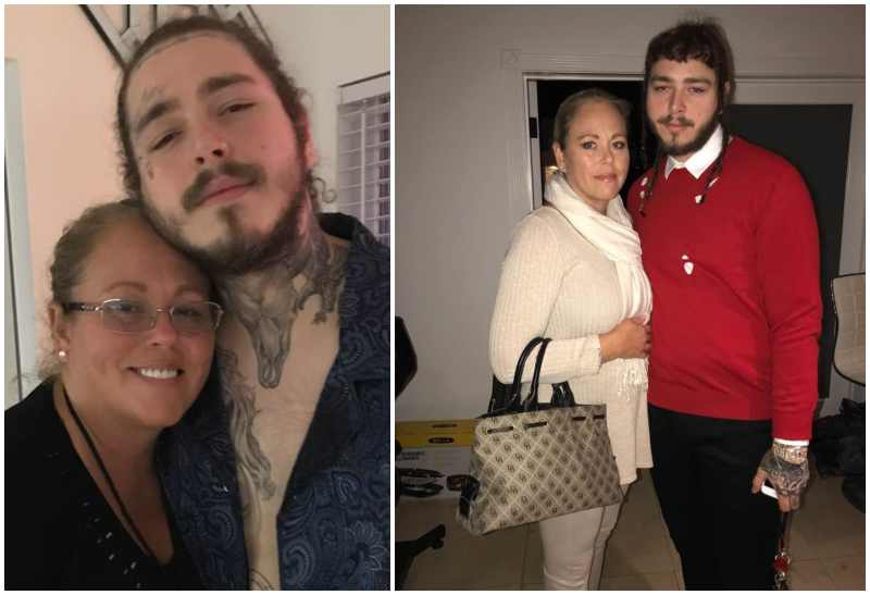 Post Malone's family - mother Nicole Lake