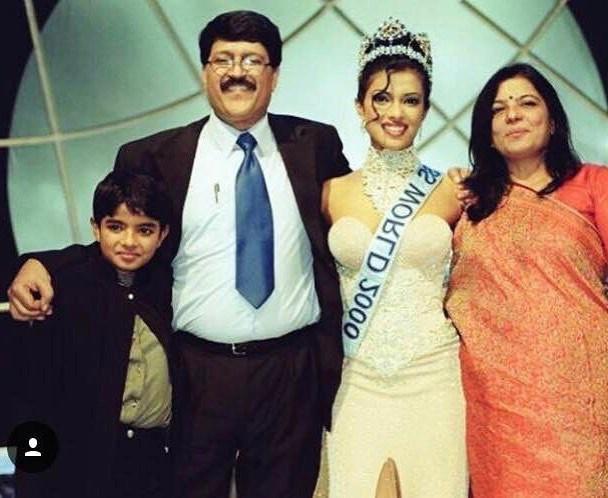 Priyanka Chopra's family