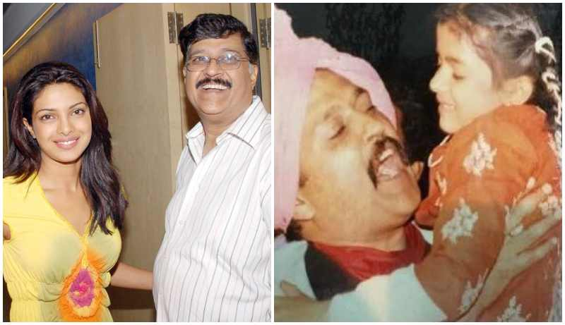 Priyanka Chopra's family - father Ashok Chopra