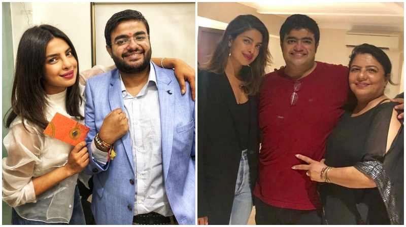 Priyanka Chopra's siblings - brother Siddharth Chopra