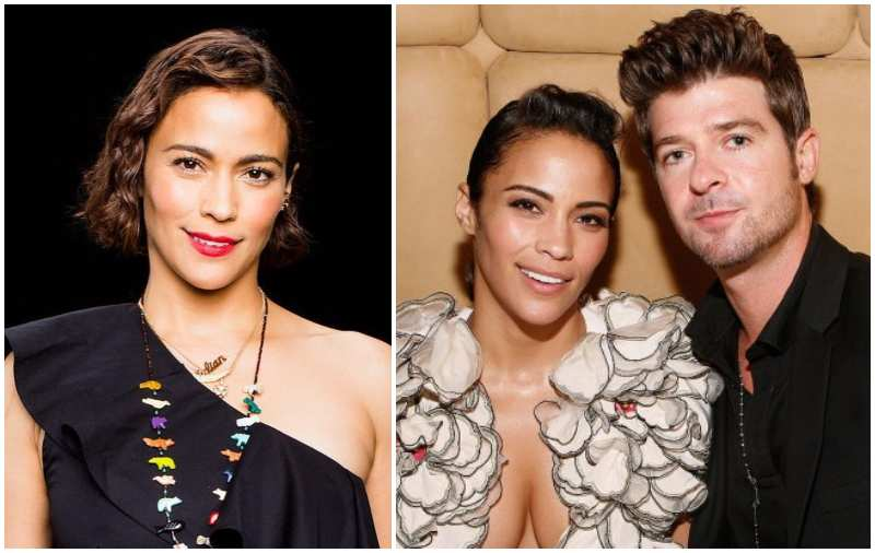Robin Thicke's family - ex-wife Paula Patton