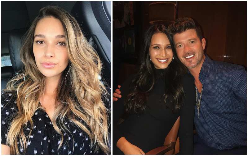 Robin Thicke's family - girlfriend April Love Geary