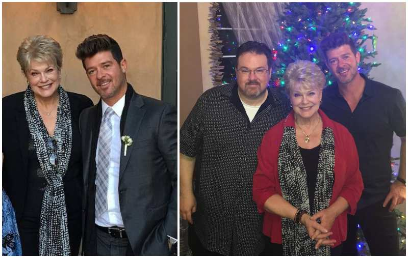 Robin Thicke's family - mother Gloria Loring