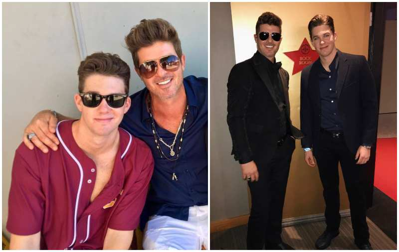 Robin Thicke's siblings - half-brother Carter Thicke