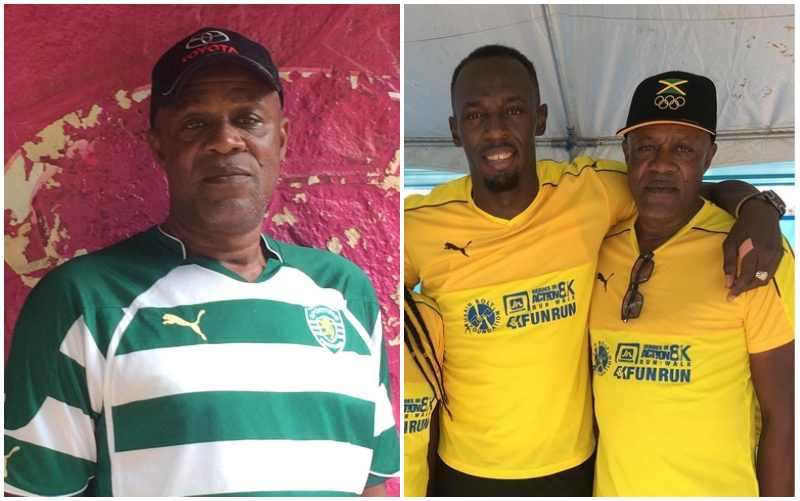 Usain Bolt's family - father Wellesley Bolt