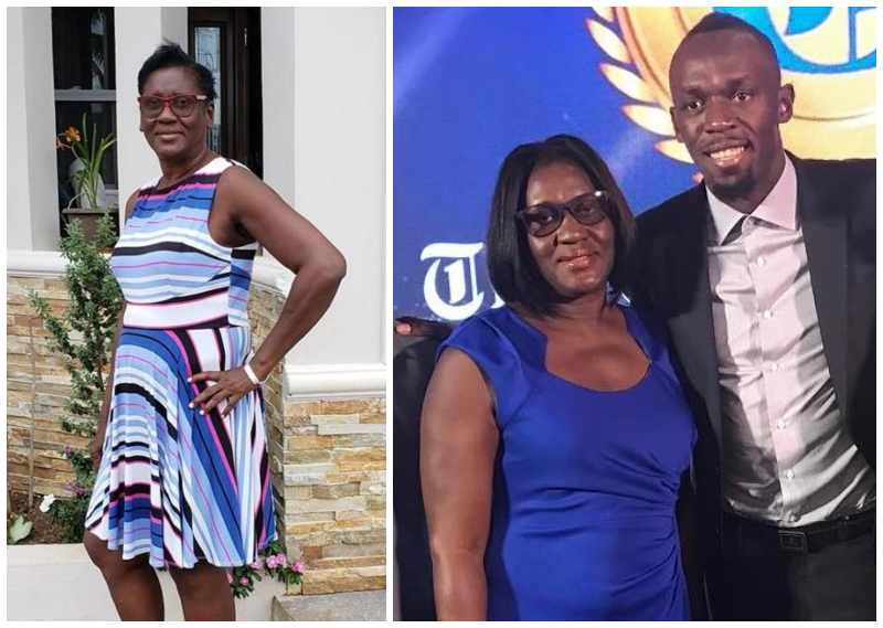 Usain Bolt's family - mother Jennifer Bolt