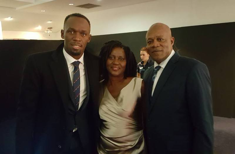 Usain Bolt's family - parents