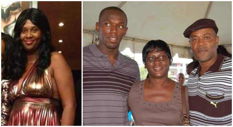 Usain Bolt's siblings - half-sister Christine Bolt