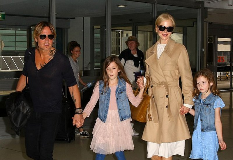 Unique Celebrity Kid Names - Sunday Rose and Faith Margaret Kidman Urban