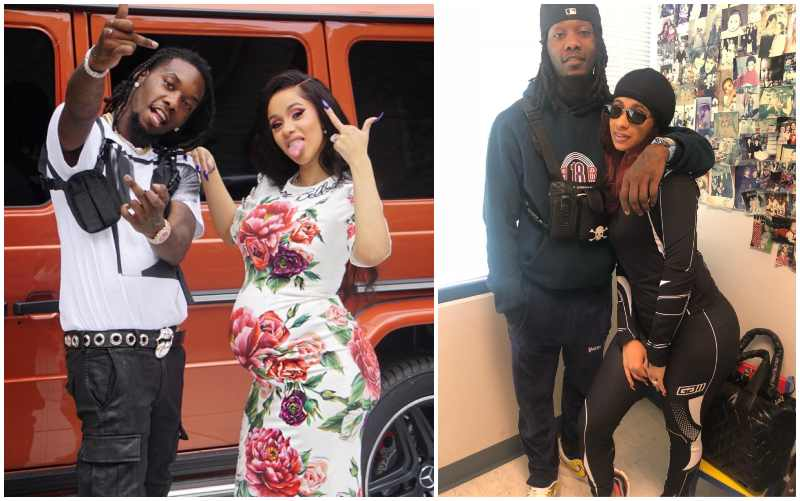 Cardi B family - husband Kiari Cephus aka Offset