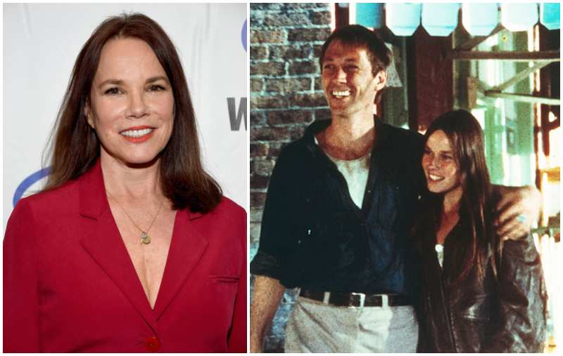 David Carradine's family - ex-partner Barbara Hershey