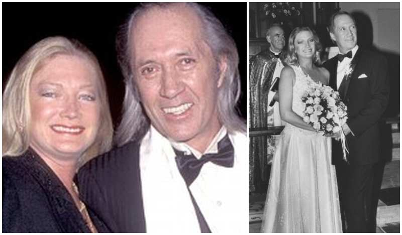 David Carradine's family - ex-wife Gail Jensen