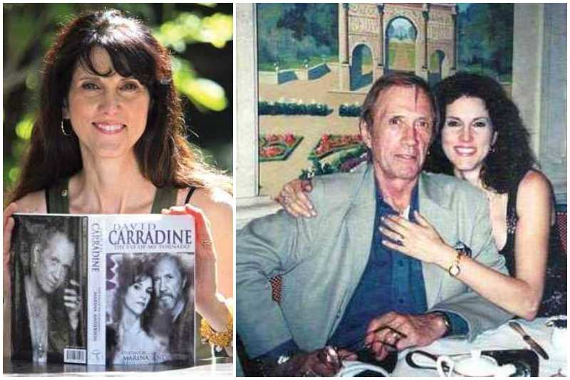 David Carradine's family - ex-wife Marina Anderson