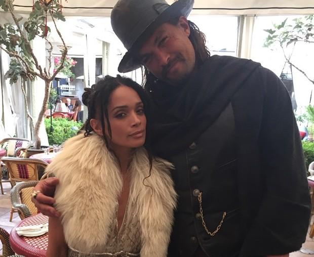 Jason Momoa's family - wife Lisa Bonet