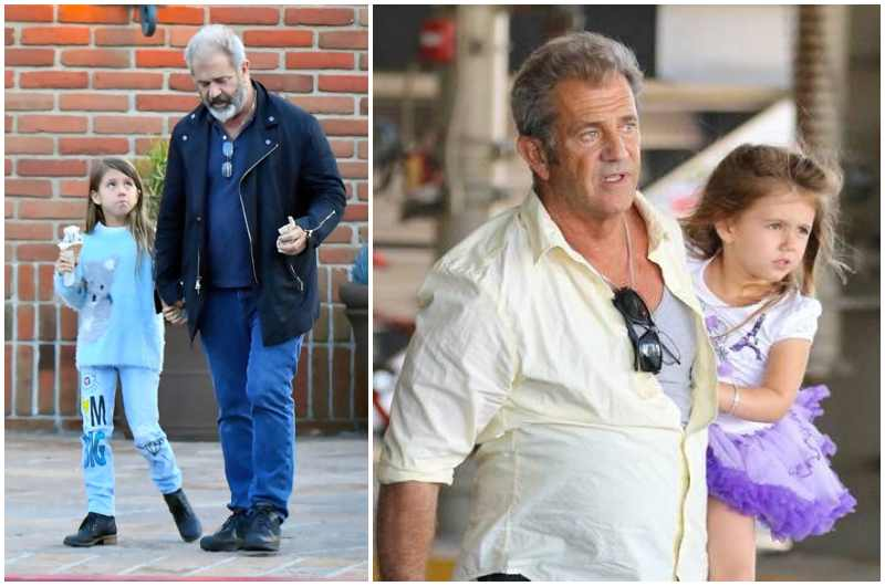 Mel Gibson's children - daughter Lucia Gibson